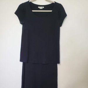 Boden Black Dress Size 10